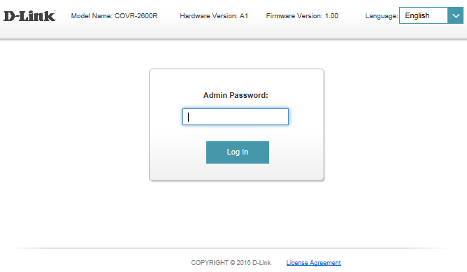 Dlink router login & setup